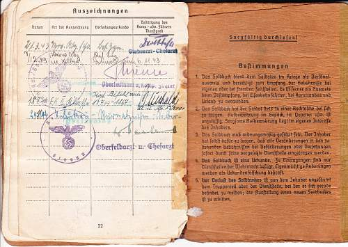 Soldbuch and Documents to 320 ID !!