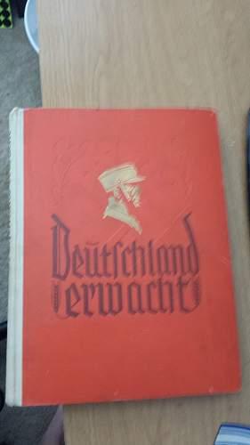 Nazi propaganda book