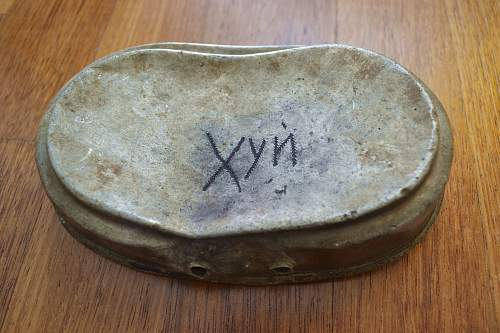 "Mess Kit signed ""DICK"""
