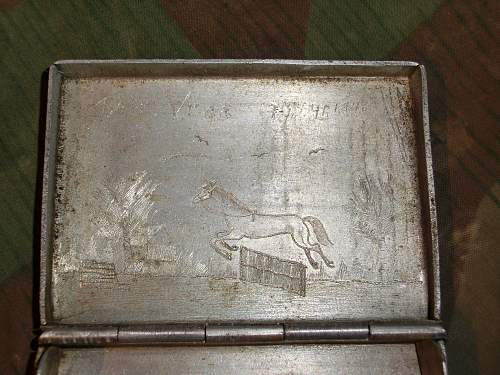 Soviet POW trench art from Norway