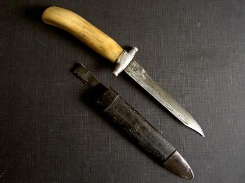 Trench Art Customized 'Razvedchik 'Knife