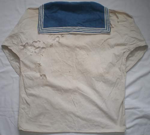 navy shirt ...