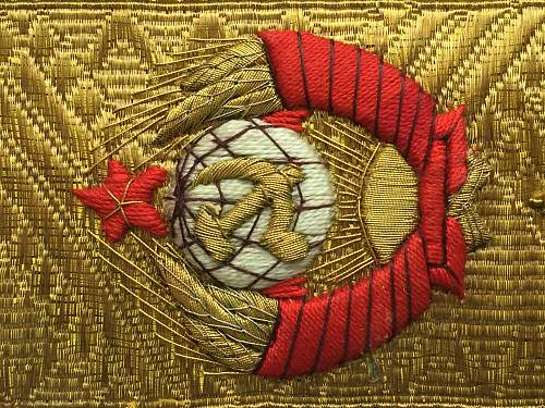 What do you think about these soviet marshal shoulder border? it's copy or original?