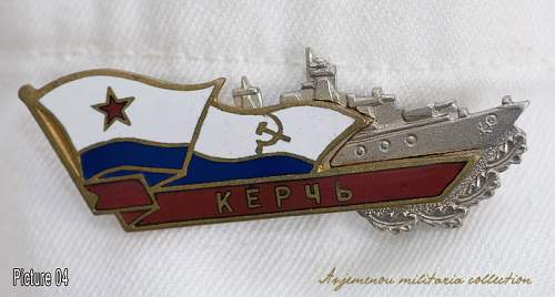 Soviet Black Sea fleet objects