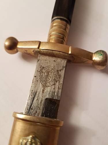 Soviet navy dagger?