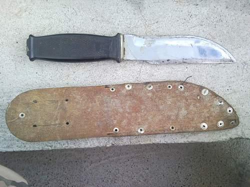 Need ID Please !!! Fighting knife