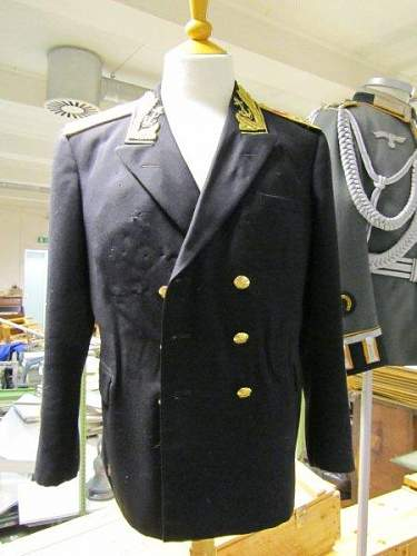 Admiral of the Fleet Tunic and Hat