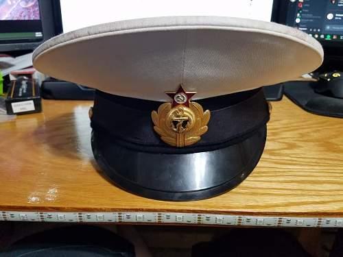 Soviet Naval Officer Cap