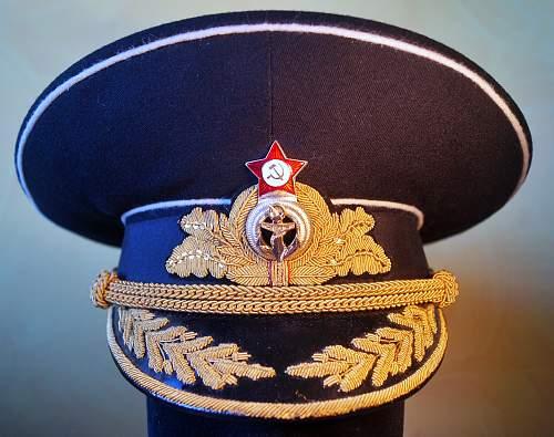 Opinions on Navy Admiral Winter Parade Visor