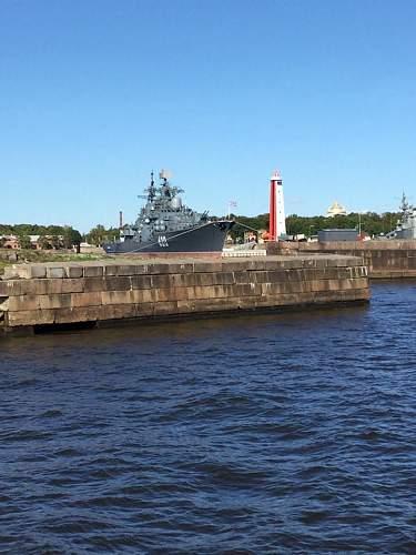 Kronstadt Naval base, Russia