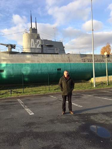 Soviet Submarine at Primorsky, St Petersburg