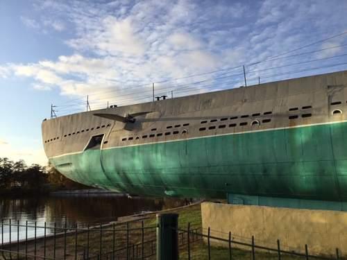 Soviet Submarine at Primorsky, St Petersburg