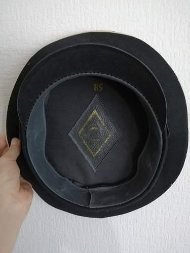 Vmf petty officer's cap?