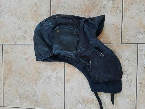 Leather soviet pilot cap?