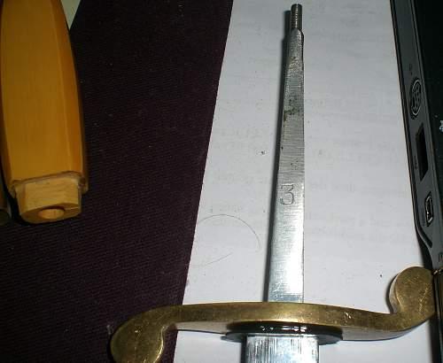 WW2 Russian Navy Dress Dagger?