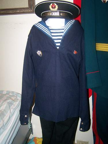 navy uniform opinions please