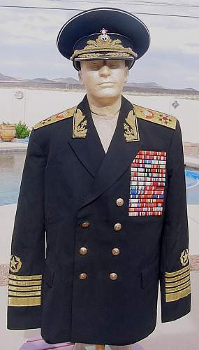 Soviet navy uniform