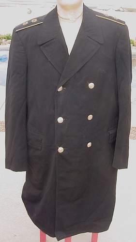 Admiral's Lightweight Overcoat or Raincoat
