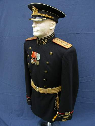 Colonel of Naval Land Forces - Parade Dress