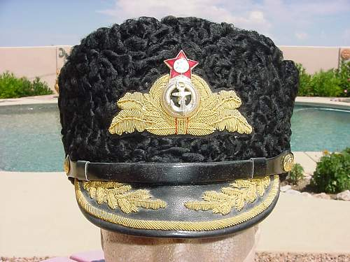 A Most Interesting Admiral's Hat