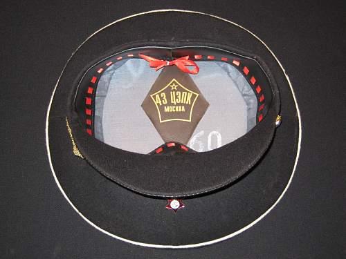 Navy officer's cap