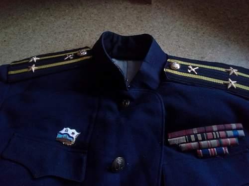 Soviet Navy Uniform