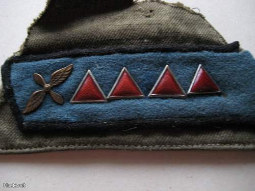 M35 Air Force Starshina's Collar Tabs- Authenticity?