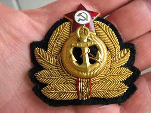 Supposed Soviet Navy Grouping