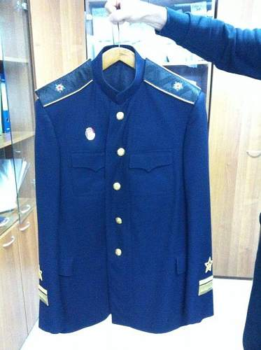 Can you identify this  russian jacket? Please, help me!