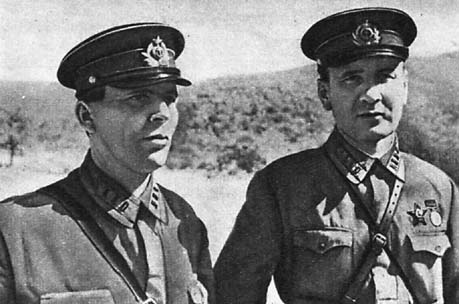 Name:  The commander of the 83rd Brigade, Lieutenant Colonel MP Brigade Commissar Kravchenko and Regime.jpg Views: 1933 Size:  32.7 KB