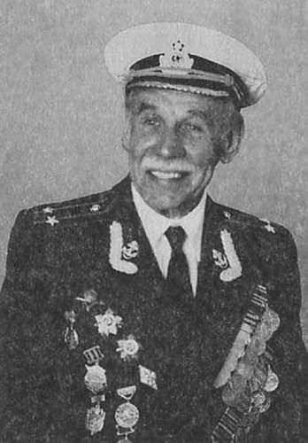Commander of antitank gun, naval infantry of KBF