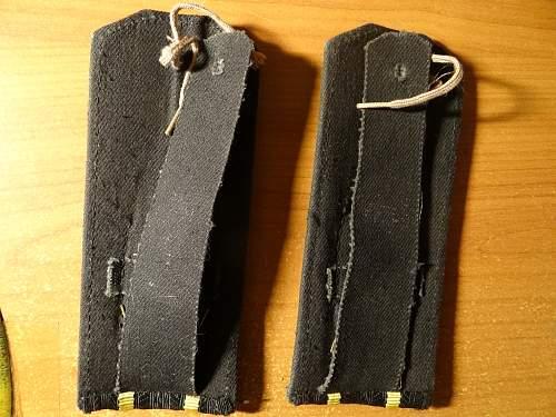 USSR naval officer shoulder straps .
