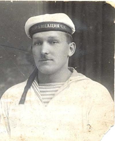 Soviet marine's hat?