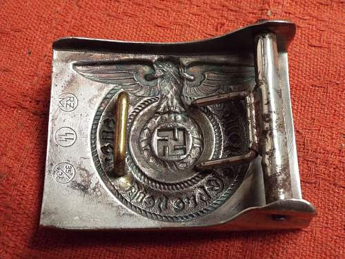 RZM SS 35/36 buckle for review