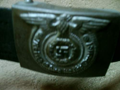 I need to help quickly as possible with SS belt with buckle