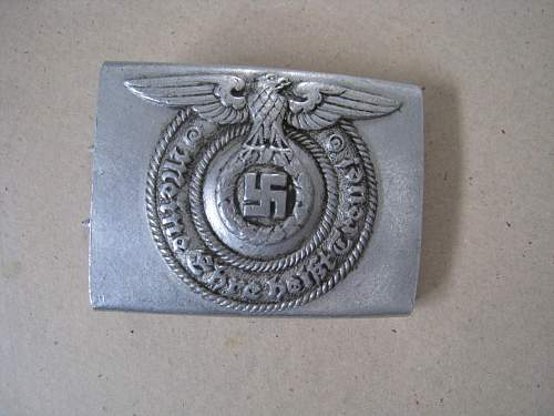 SS buckle 36/38 fake or real?