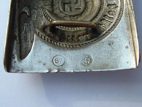 Click image for larger version.  Name:Nickel RZM 57 Marked  SS Makers near catch.jpg Views:3 Size:141.0 KB ID:1108538