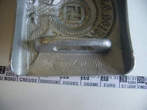 Please Help with this SS Belt Buckle