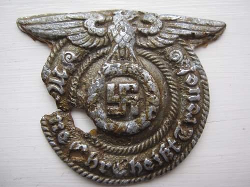 Beautiful Waffen SS buckle (relic)