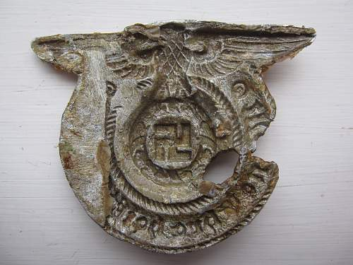 Beautiful Waffen SS buckle (relic)