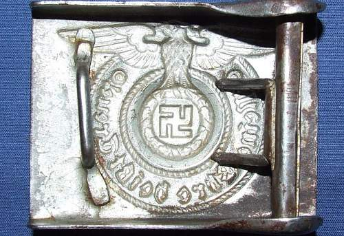 ss buckle looks good to me ?