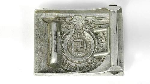 SS buckle. Any problems?