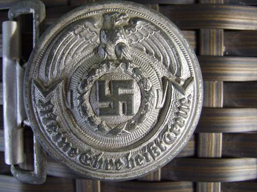 Two SS Officer's buckles