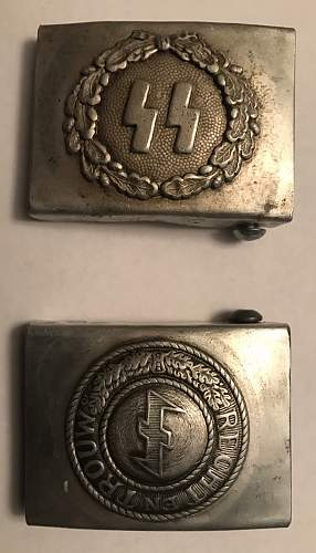 2 Belt Buckles - Comments Welcomed - Appreciate Other Comments On Other Posts