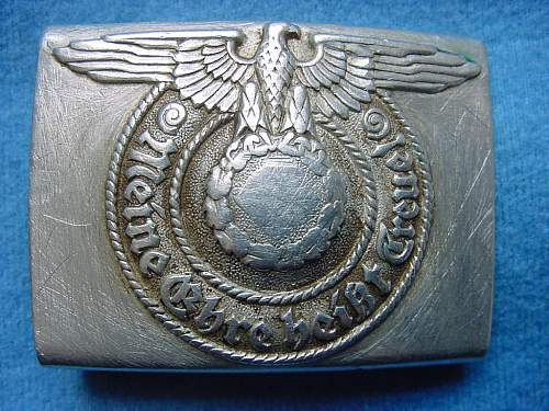 Interesting SS Buckle