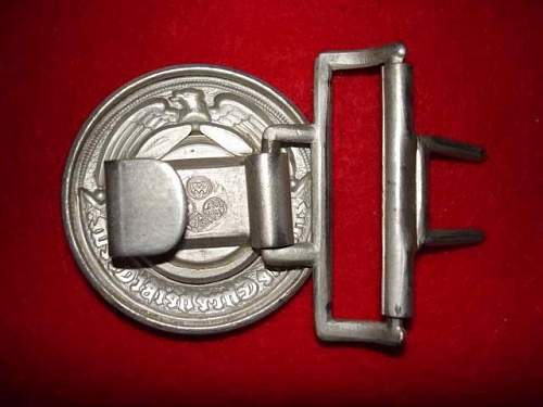 SS Officers Buckle 36/40 Help!