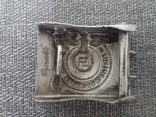 steel belt buckle ss rzm 36/42 copy or original?