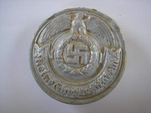 SS Officers buckle - opinions please