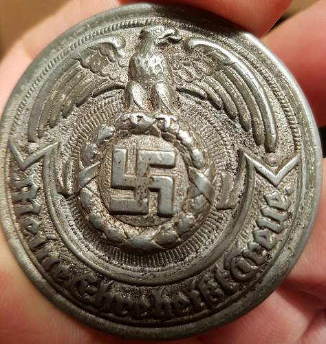 SS Officers belt buckle//