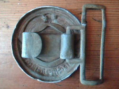 Relic SS Officer's Belt Buckle...